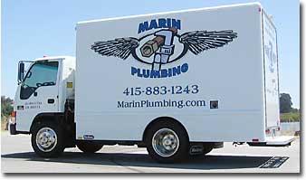 Marin Plumbing Truck